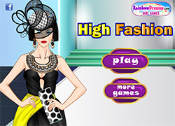 High Fashion öltöztetős j…